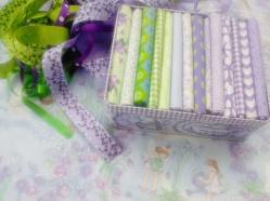 Purple fairy fabric