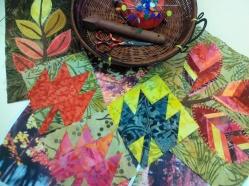 foliage paper piecing