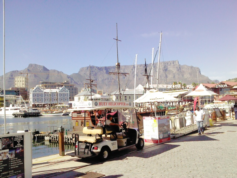Table Mountain from the Waterfront