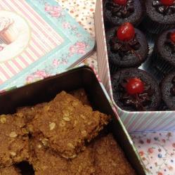 Crunchies & chocolate cupcakes