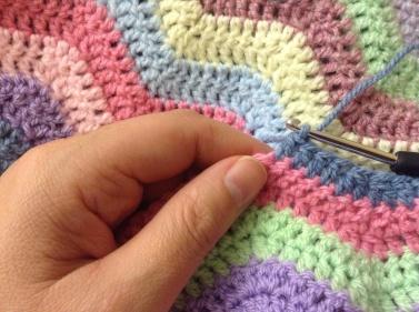 LookC - crochet blanket
