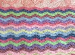 Pink blankie wave