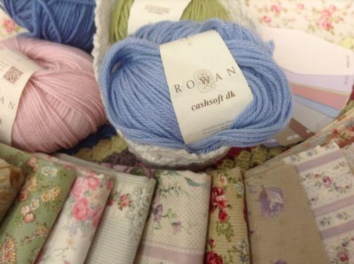 Wool & fabric - guestroom
