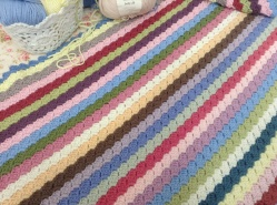 Blankie for guestroom