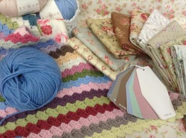 Wool, fabric - guestroom