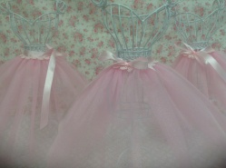 Tutu skirts on wire bodies