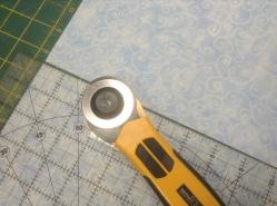 Princess bunting - cutting 7 half inch rectangles