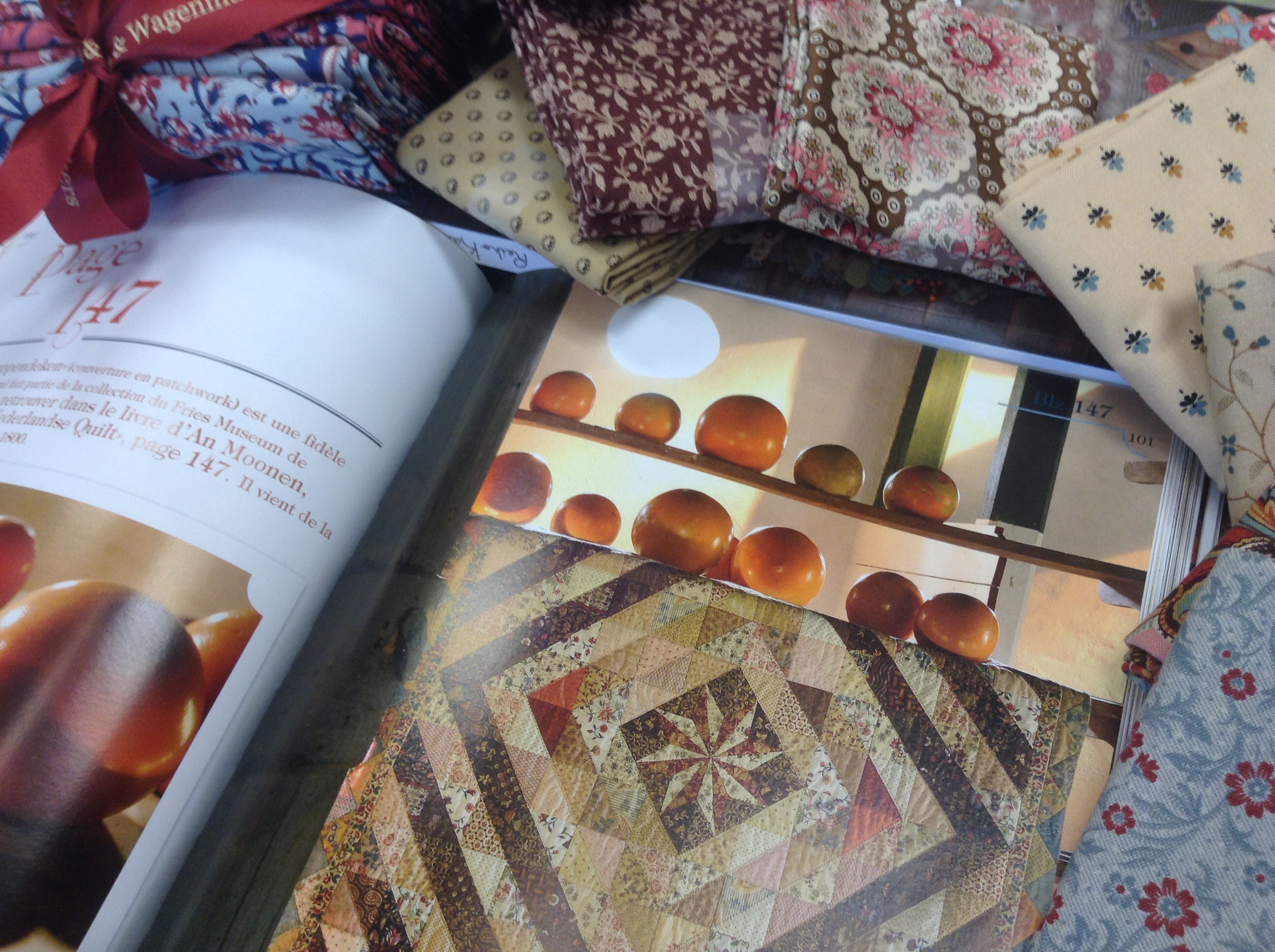 An Moonen Quilts.Dutch Quilts Buzy Day