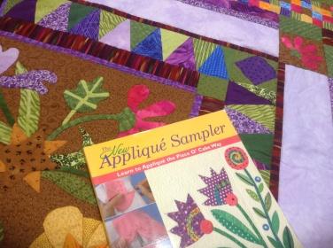 The New Appliqué Sampler by Becky Goldsmith & Linda Jenkins