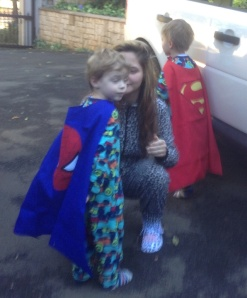 Superheros in training!