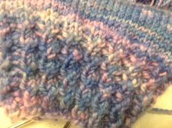 Hot off the knitting needles!
